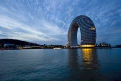 云南,中国,泸沽湖风景 库存图片