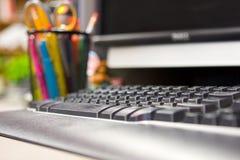 стол компьютера Стоковое Фото