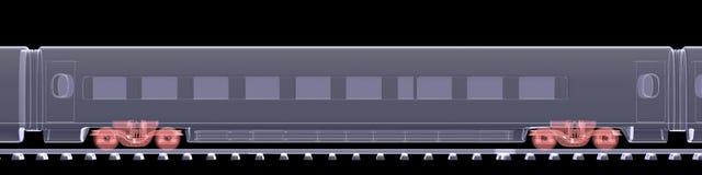 Το νέο μεγάλο τραίνο Στοκ εικόνα με δικαίωμα ελεύθερης χρήσης