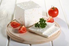 希腊白软干酪 免版税图库摄影