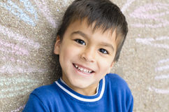 Счастливый мальчик Стоковое Изображение