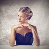 Красивая женщина Стоковое Изображение RF