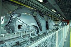 Γραμμή παραγωγής αυτοκινήτων Στοκ Εικόνες