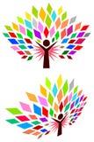 Человеческое дерево Стоковые Фотографии RF