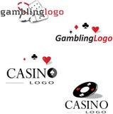 赌博的商标 库存图片
