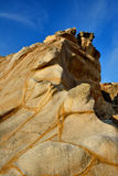 风化花岗岩风景在福建,中国 免版税库存照片