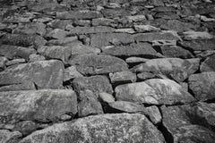 Закройте вверх каменной стены Стоковые Фотографии RF