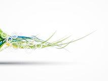 Дело компьютерной технологии футуристического интернета науки высокое Стоковое Фото