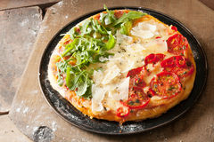 Πατριωτική ιταλική πίτσα Στοκ Εικόνα