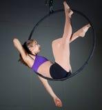 体操运动员 免版税库存照片