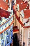 Городок Праги старый Стоковое фото RF