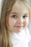 一个美丽的小女孩 图库摄影