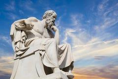 Σωκράτης, φιλόσοφος αρχαίου Έλληνα Στοκ φωτογραφίες με δικαίωμα ελεύθερης χρήσης