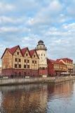 Рыбацкий поселок Стоковая Фотография