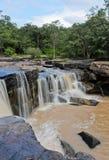 Водопад после проливного дождя Стоковая Фотография