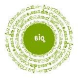 绿色生态概念,您的圈子框架 库存照片
