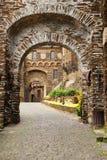 科赫姆城堡 免版税库存照片