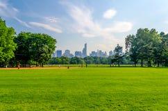 中央公园,曼哈顿 免版税库存照片