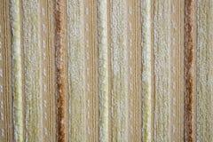 米黄纺织品 库存照片