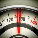 Υπέρβαρος - κλίμακα λουτρών Στοκ φωτογραφίες με δικαίωμα ελεύθερης χρήσης