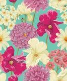 花卉无缝的样式 免版税图库摄影