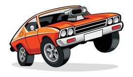 肌肉汽车 免版税库存图片