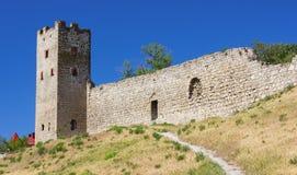 热那亚人的堡垒 图库摄影