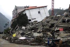 地震灾害 免版税库存照片