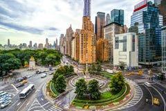 纽约哥伦布圈子 图库摄影