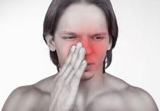 Άρρωστο άτομο Στοκ εικόνες με δικαίωμα ελεύθερης χρήσης
