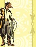 西部背景的系列 库存图片
