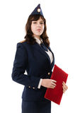 Офицер женщины Стоковые Изображения RF
