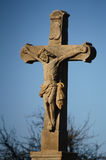 十字架的耶稣 库存图片