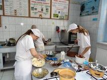 Σπουδαστές βιομηχανιών ζαχαρωδών προϊόντων Στοκ Εικόνα