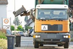 Αστικές υπηρεσίες αποβλήτων και απορριμάτων ανακύκλωσης Στοκ Εικόνα