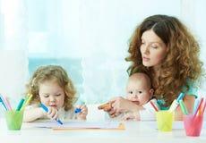 Домашнее обучение Стоковое Изображение