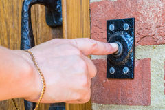 Дверной звонок Стоковое Фото
