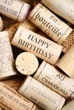 Поздравительая открытка ко дню рождения с днем рождений Стоковое Фото