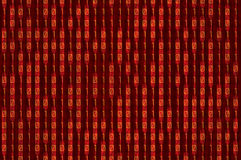 Κόκκινο δυαδικό Στοκ φωτογραφία με δικαίωμα ελεύθερης χρήσης