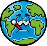 地球病残 免版税图库摄影