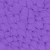 紫罗兰色无缝的样式 免版税库存照片
