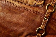 皮革背景 免版税库存图片