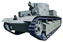 老三塔坦克 免版税库存照片