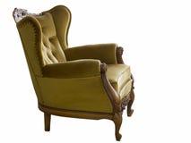 与雕刻的椅子 免版税库存照片