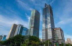 Многоэтажные здания Стоковое Изображение