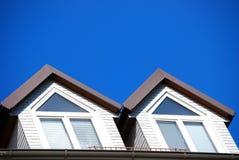 屋顶窗 免版税库存图片