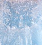 霜模式 免版税库存图片