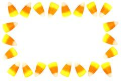 糖味玉米框架 免版税库存照片