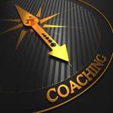 教练。企业背景。 免版税库存图片