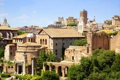 Римский форум Рим Стоковые Фото